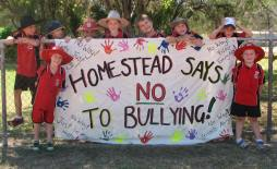 "Homestead says ""Bullying No Way"""