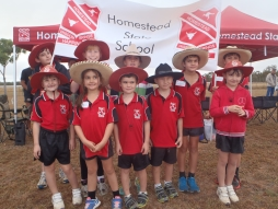 Homestead strives for victory at the Dalrymple athletics carnival